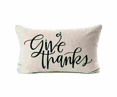 Thanksgiving Throw Pillow Cover