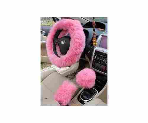 Yontree Winter Warm Faux Wool Handbrake – Gear Shift & Steering Wheel Cover