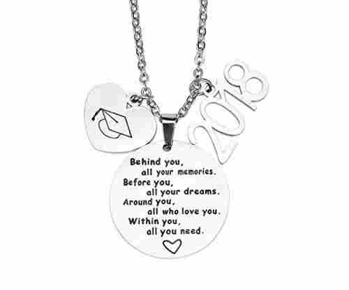2018 Graduation Gift Necklace – Congrats Grad