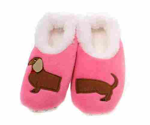 Snoozies Women's Applique Slipper Socks