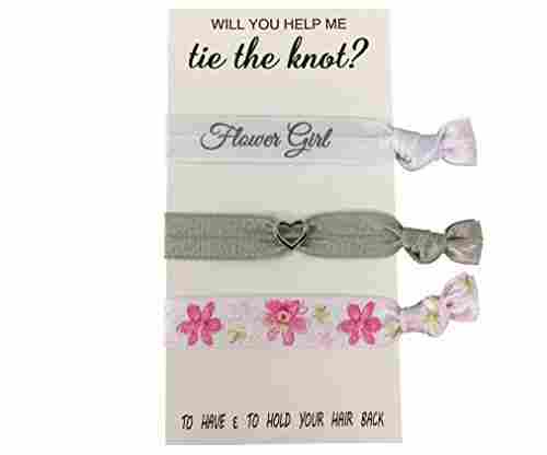 Infinity Collection Flower Girl Hair Ties