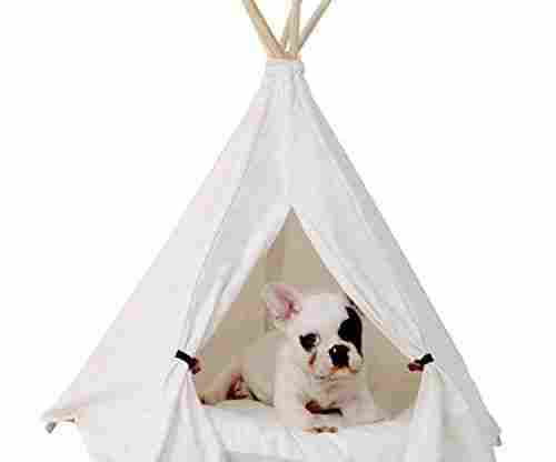 Little Dove Pet Teepee Dog (Puppy) & Cat Bed