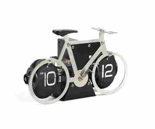 WonderZoo Auto Flip Down Bicycle Clock