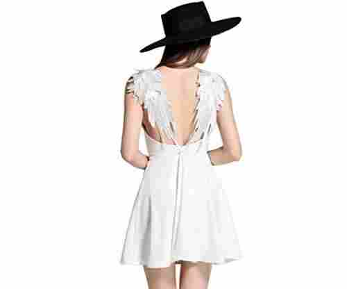 Choies Women's Angel Wings Dress