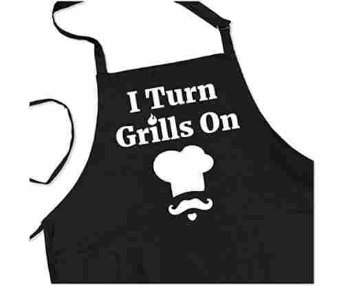 BBQ Grill Apron – I Turn Grills On