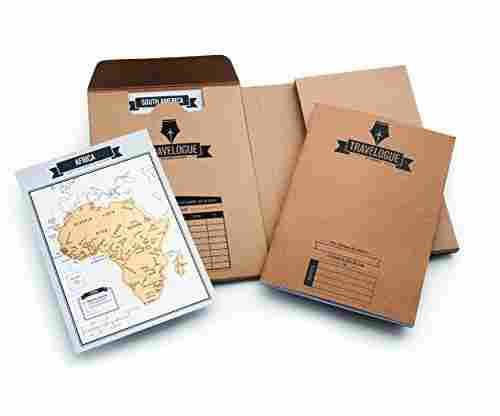 Original Travel Journal – Scratch Off World Map Diary