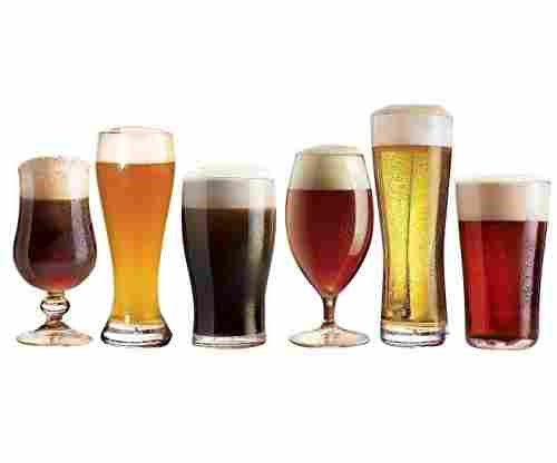 Luminarc N2561 – Assorted Craft Brew Tabletop Beer Glasses