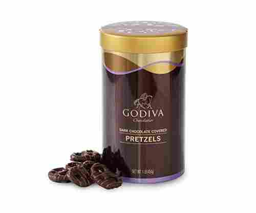 Godiva Chocolatier Dark Chocolate Covered Pretzels