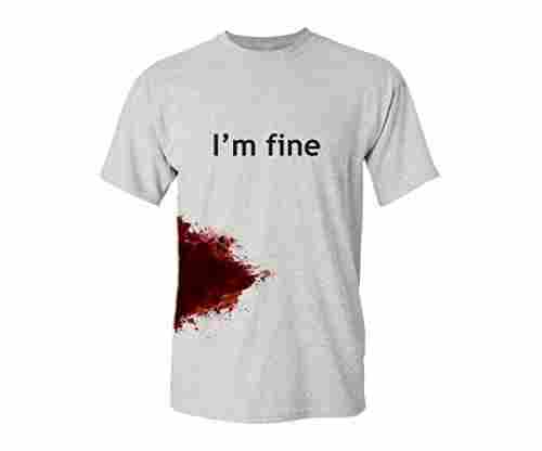 """I'm Fine"" Graphic Zombie T-Shirt"