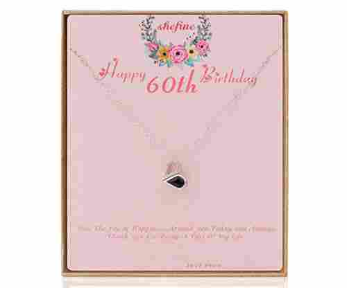 Shefine 60th Bday – Deformable Heart Necklace
