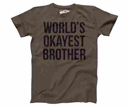 Men's World's Okayest Brother Shirt
