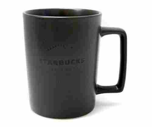 Starbucks Seattle Matte Charcoal Black Handle Coffee Cup