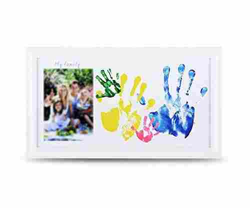Family Photo Family Baby Hand Footprints Kit