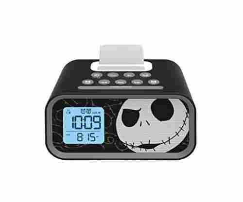 Nightmare Before Christmas Jack Skellington Alarm Clock