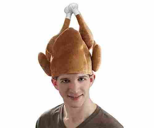 Forum Novelties Roasted Turkey Hat for Adults