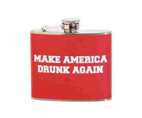 Make America Drunk Again – Stainless Steel Flask