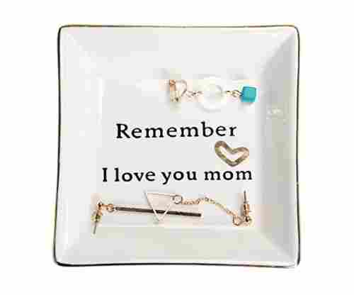 Decorative Trinket Plate for Moms