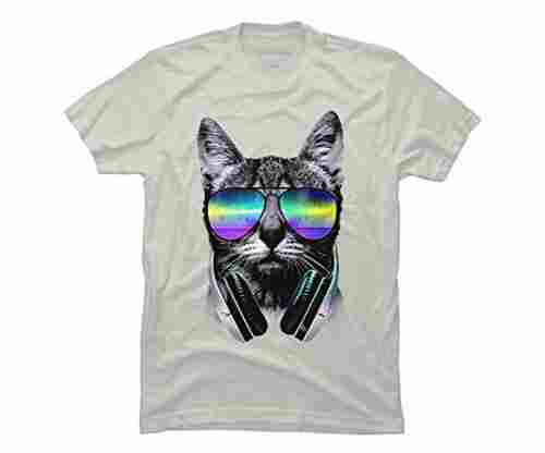 Music Lover Cat V.II Men's Graphic T Shirt – Design By Humans