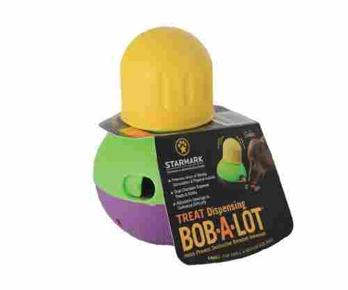StarMark Bob-A-Lot Interactive Dog Toy and Dog Feeder