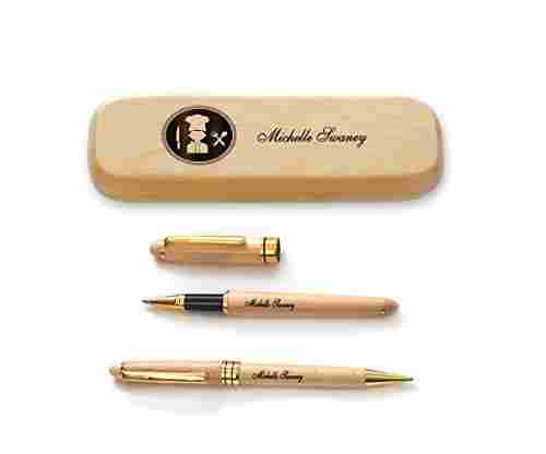 Personalized Pen Set for Cooking Professionals
