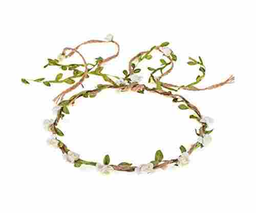 DDazzling Flower Crown Floral Headband