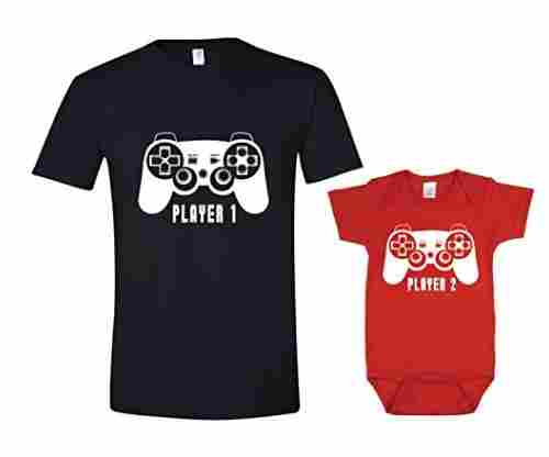 Texas Tees – Matching Dad Tee and Baby Romper