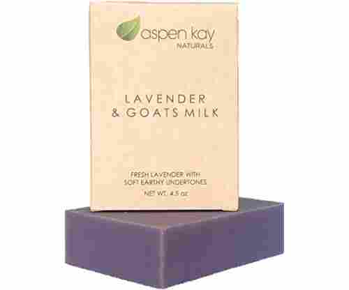 Lavender Goats Milk Soap Bar – Natural and Organic