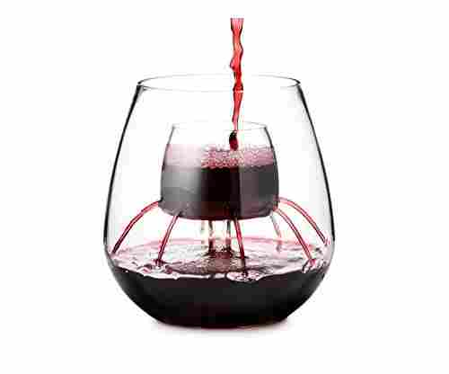 Stemless Aerating Wine Glasses by Chevalier Collection