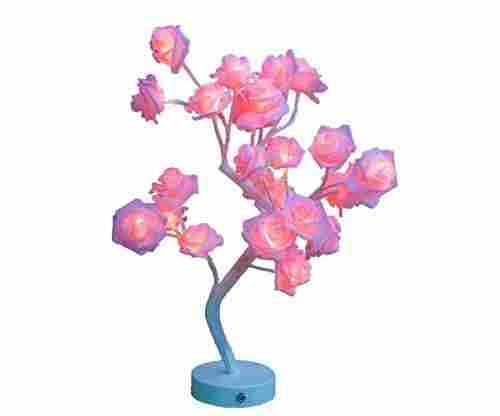 Rose Flower Desk Tree Lamp