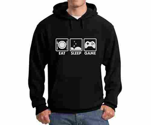 Eat, Sleep, Game – Men's Hoodie