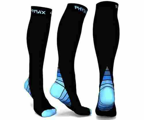 Compression Socks for Sports and Leisure
