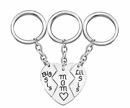 Love Heart Pendant Key Chain