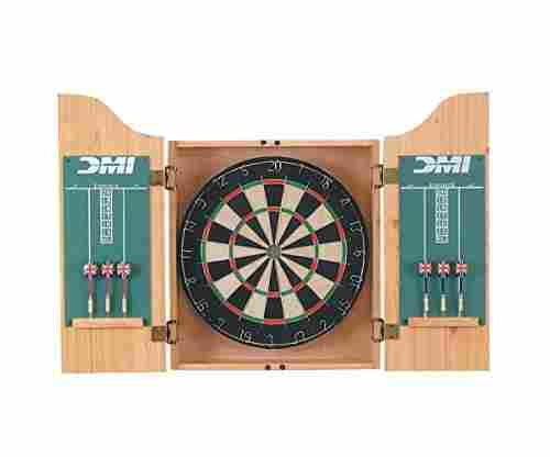 DMI Sports Deluxe Dartboard Cabinet Set