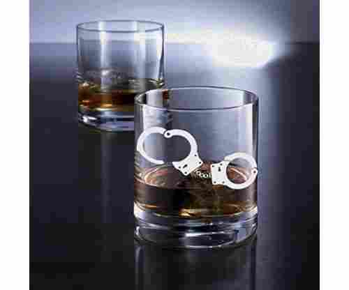 Policeman Whiskey Glass