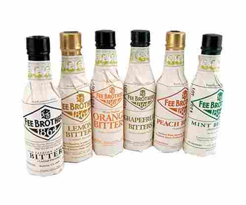 Fee Brothers Bar Cocktail Bitters – Set of 6