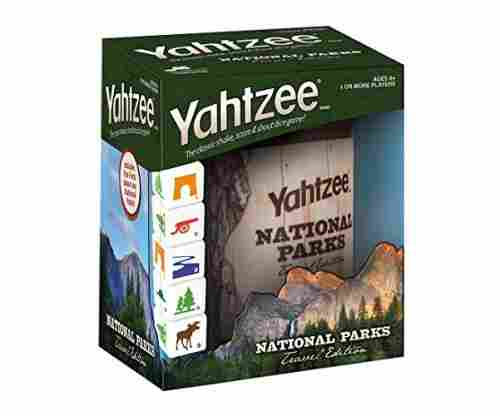 YAHTZEE: National Parks Travel Edition Game