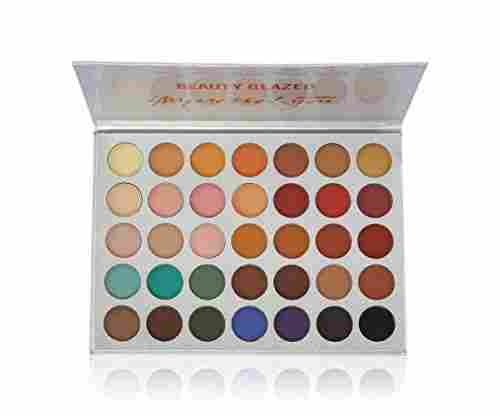 Beauty Glazed Eyeshadow Palette: 35 Colors