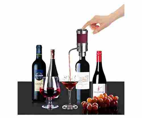 Electric Wine Aerator With Dispenser Pump