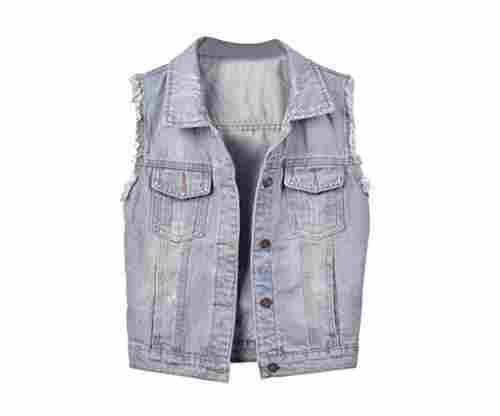 Big Girls' Denim Vest