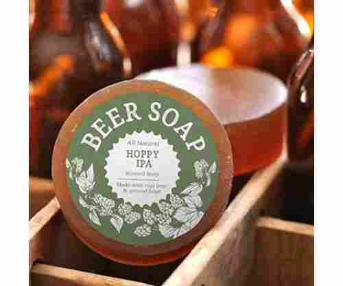 Beer Soap (Hoppy IPA) – All Natural + Made in USA