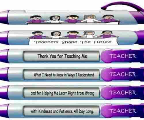 Teachers Shape The Future Pens