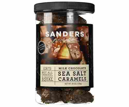 Sanders Milk Chocolate Sea Salt Caramels