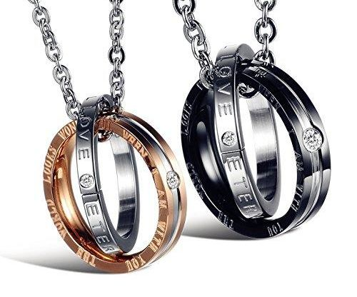 His & Hers Matching Necklace Set