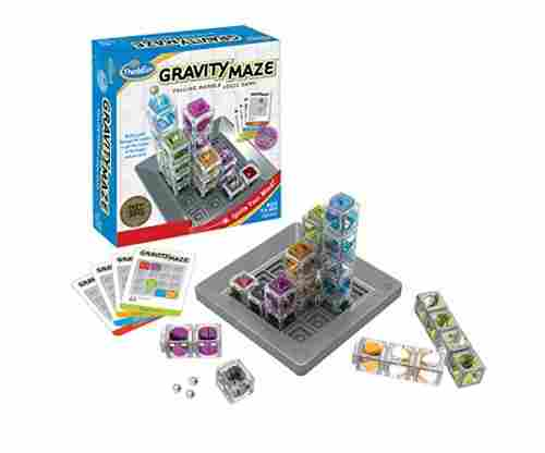 Think Fun Gravity Maze Marble Run Logic Game