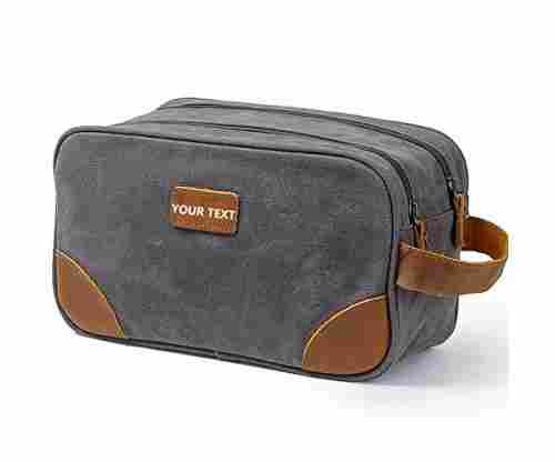 Kemy's Men's Customizable Toiletry Bag Travel