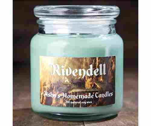 Lord of the Rings Rivendell Soy Candle