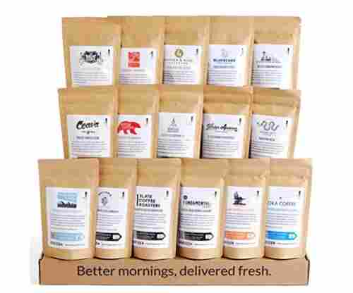 Bean Box – World Coffee Tour Sampler