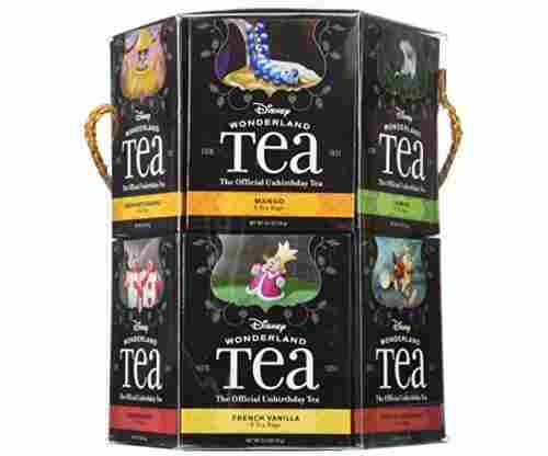 Disney Parks Alice in Wonderland 12 Flavor Tea Variety Pack