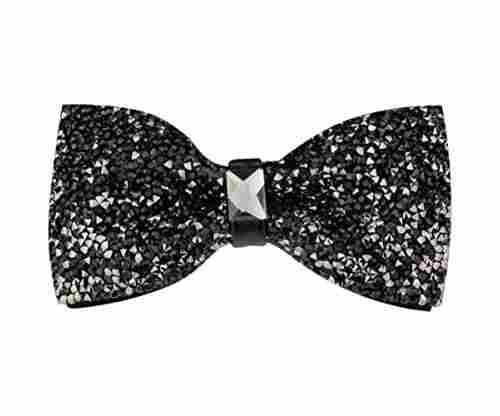 New Fashion Men Rhinestone Bow Tie