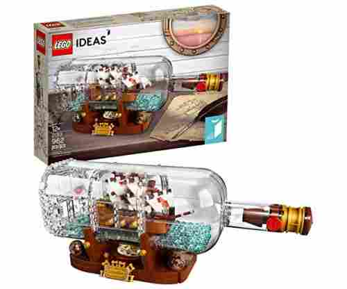 LEGO Ideas Ship in a Bottle 21313 Expert Building Kit